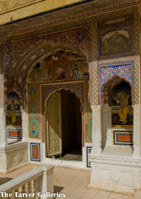 Castle Mandawa doorway