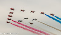 Red Arrows and International Friends