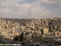 CITY OF AMMAN, FROM THE CITADEL