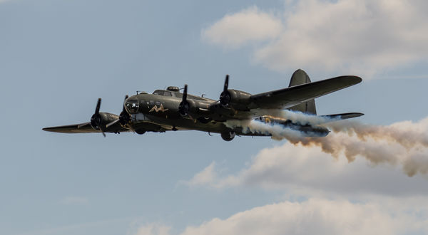 SALLY B TRIBUTE FLY PAST
