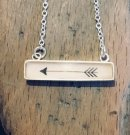 Oblong Arrow Pendant