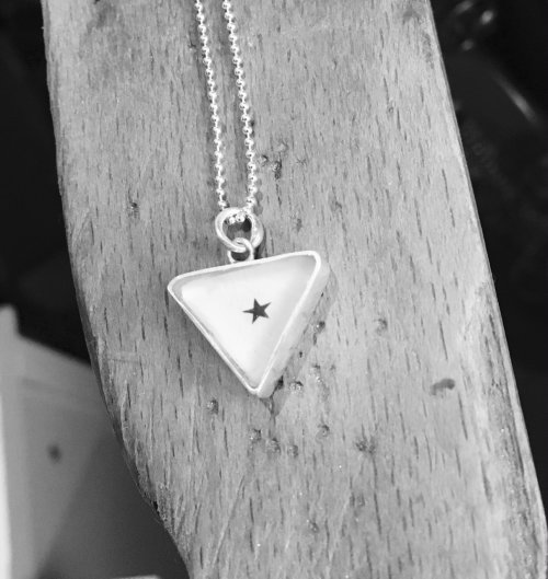 Triangle Star Pendant