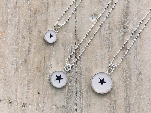 Motif - Small Charm Pendants, Stars