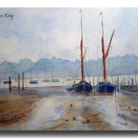 Barges at Wivenhoe