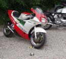 Ducati 851 @Aden Park,  80s.Class winner.