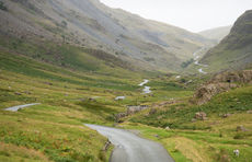 Up the pass