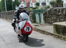 Michael Dunlop on 500 Gilera