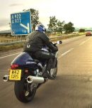 Andy on his Busa.