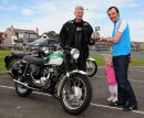 George and his Triumph 1st prize