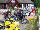 On our way to Skye, we stopped for a break at this cafe.
