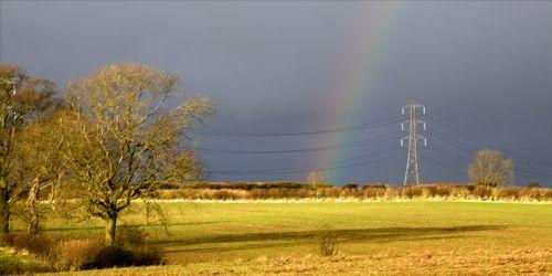 Pylon and Rainbow