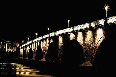 Tay Bridge at Perth