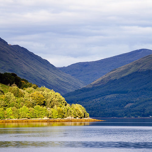 Scottish Loch Scene