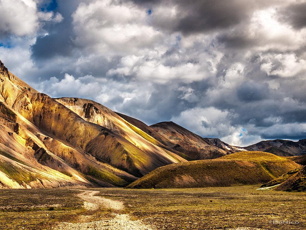 Iceland 1  -  Landmannalaugar