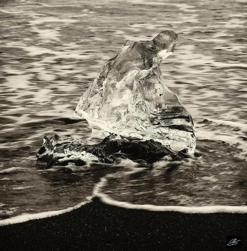 Black sand/Ice
