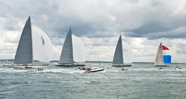 J Class Yachts on the Solent