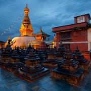 Swayambhunath After Rain