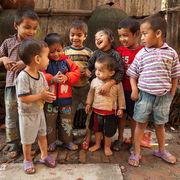 Happy Nepalese Children