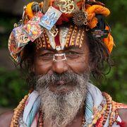 Highly Decorated Sadhu