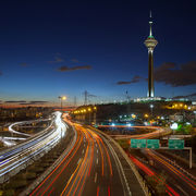 Highways and Milad Tower