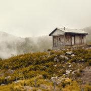 Hut in the Fog