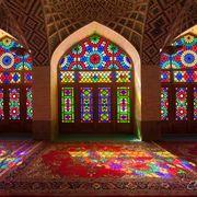Interior of Nasir-ol-molk Mosque