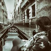 Little Girl in Venetian Gondola