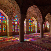 Nasir-ol-molk Mosque with Stained Glass Windows
