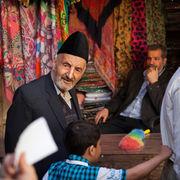 Old Man in Bazaar