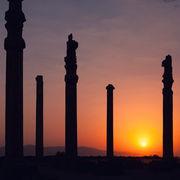 Sunset at Persepolis