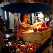 Pomegranate Juice Stall