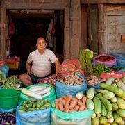 Traditional Vegetable Seller