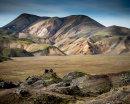 Rhyolite Landscape