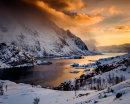 evening light in Lofoten