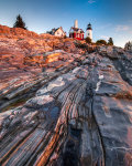 dawn at Pemaquid Point