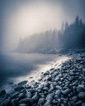 morning mist on Arcadia