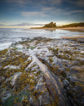 low tide at Bamburgh