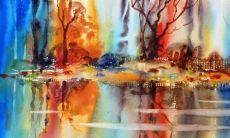 Colour river