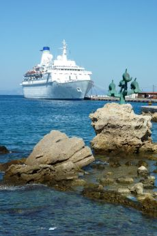 M.V.Discovery in Rhodes