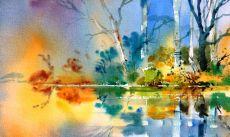 Dreamy Riverbank