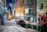 Nightime in Venice