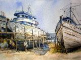 Boat repairs in Manta