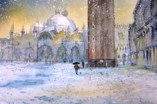 Venice in the Snow SOLD