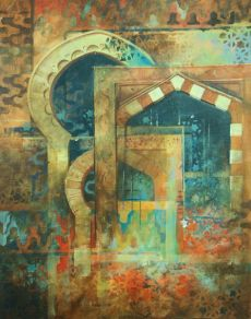 Patterns of Arabia, Acrylic, SOLD
