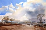 Winter wind, Pendle Hill