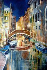 Canareggio, Night scene. Sold