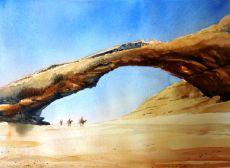 Wadi Rum, Jordan. Sold