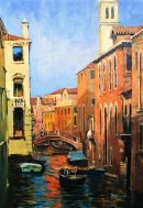 Colours of Venice (Acrylic) 12x8in