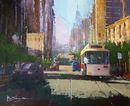 Streets of San Francisco (Acrylic) 31x38cm