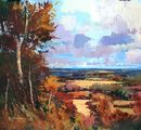 Autumn Colours, Box Hill (Acrylic) 44x50cm